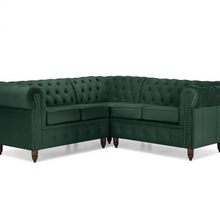 Coltar Chesterfield Dark Green